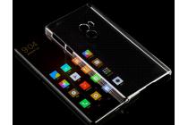 """Фирменная ультра-тонкая пластиковая задняя панель-чехол-накладка для Xiaomi MI MIX 6.4"""" прозрачная"""