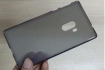 """Фирменная ультра-тонкая полимерная из мягкого качественного силикона задняя панель-чехол-накладка для Xiaomi MI MIX 6.4"""" черная"""