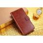 Фирменный чехол-книжка из качественной импортной кожи с подставкой застёжкой и визитницей для Xiaomi MI MIX 6...