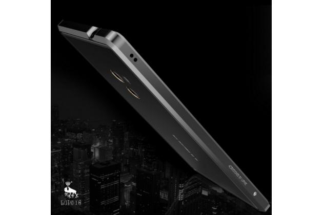 """Ультра-тонкий чехол-бампер для Xiaomi MI MIX 6.4"""" черный металлический"""