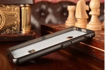 Фирменная металлическая задняя панель-крышка-накладка из тончайшего облегченного авиационного алюминия для Xiaomi Mi 4S черная