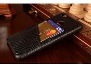 Фирменная роскошная элитная премиальная задняя панель-крышка для Xiaomi Mi 4S из качественной кожи крокодила ч..