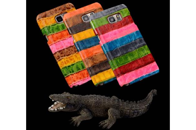 """Фирменная неповторимая экзотическая панель-крышка обтянутая кожей крокодила с фактурным тиснением для Xiaomi Mi 4S тематика """"Тропический Коктейль"""". Только в нашем магазине. Количество ограничено."""