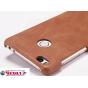 Фирменная роскошная элитная премиальная задняя панель-крышка для Xiaomi Mi 4S из качественной кожи буйвола кор..