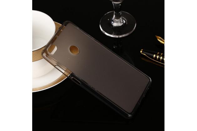 Фирменная ультра-тонкая полимерная из мягкого качественного силикона задняя панель-чехол-накладка для Xiaomi Mi 4S черная