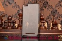Фирменная ультра-тонкая полимерная из мягкого качественного силикона задняя панель-чехол-накладка для Xiaomi Mi 4c черная
