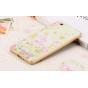 Фирменная роскошная задняя панель-чехол-накладка из мягкого силикона с объемным 3D изображением на Xiaomi Mi 4..