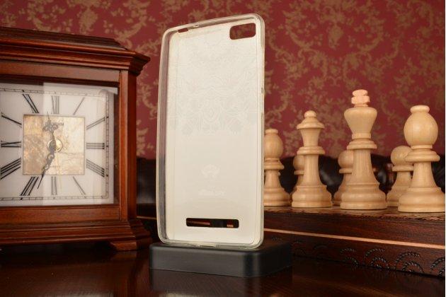 """Фирменная роскошная задняя панель-чехол-накладка из мягкого силикона с объемным 3D изображением для Xiaomi Mi 4i/Xiaomi Mi 4c с безумно красивым рисунком """"Тематика Эклектические узоры"""""""