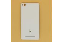 Родная оригинальная задняя крышка-панель которая шла в комплекте для Xiaomi Mi 4c/Xiaomi Mi 4i белая