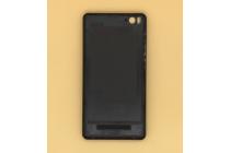 Родная оригинальная задняя крышка-панель которая шла в комплекте для Xiaomi Mi 4c/Xiaomi Mi 4i черная