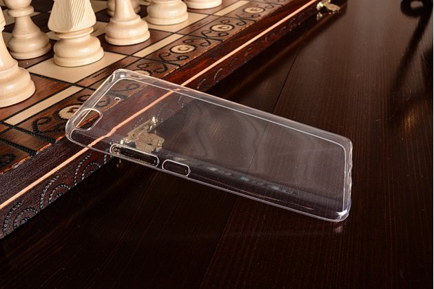 Фирменная ультра-тонкая полимерная из мягкого качественного силикона задняя панель-чехол-накладка для Xiaomi Mi 5S прозрачная