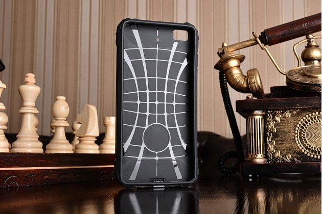 """Противоударный усиленный ударопрочный фирменный чехол-бампер-пенал для Xiaomi Mi5s 5.15"""" черный"""