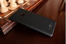 """Фирменная задняя панель-крышка-накладка из тончайшего и прочного пластика для Xiaomi Mi Note 2"""" черная"""
