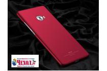 """Фирменная задняя панель-крышка-накладка из тончайшего и прочного пластика для Xiaomi Mi Note 2"""" красная"""