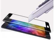 Фирменное 3D защитное изогнутое стекло с закругленными изогнутыми краями которое полностью закрывает экран / д..