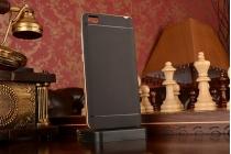 Противоударный усиленный ударопрочный фирменный чехол-бампер-пенал для Xiaomi Mi Note/Mi Note Pro черный