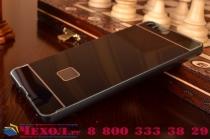 Фирменная металлическая задняя панель-крышка-накладка из тончайшего облегченного авиационного алюминия для Xiaomi Mi Note/Mi Note Pro черная