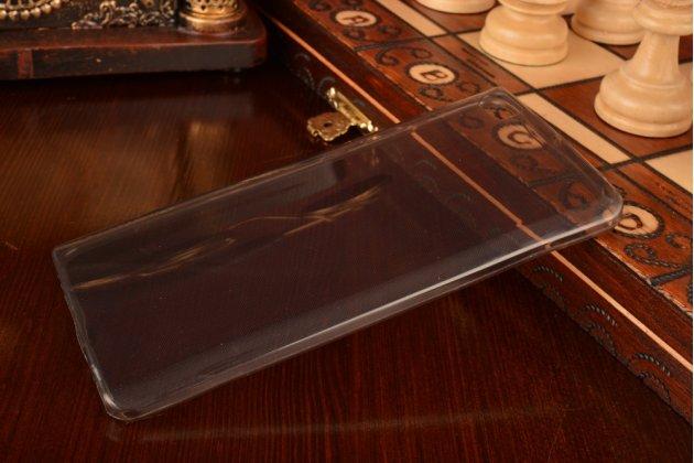 Фирменная ультра-тонкая полимерная задняя панель-крышка-накладка для Xiaomi Mi Note/Mi Note Pro черная