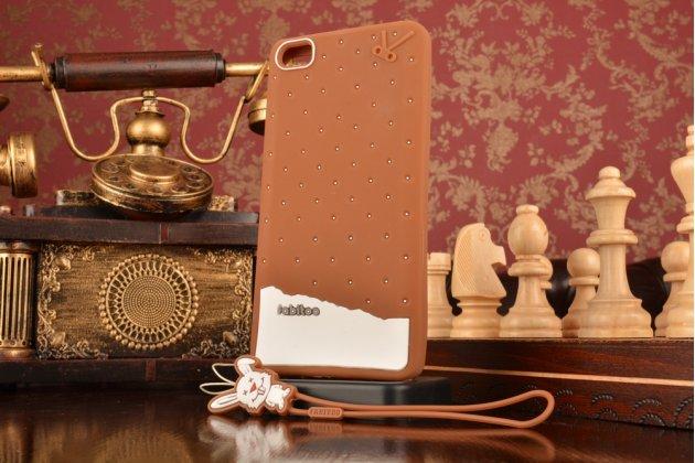 """Фирменная необычная уникальная полимерная мягкая задняя панель-чехол-накладка для Xiaomi Mi Note/Mi Note Pro """"тематика Андроид в тёмном Шоколаде"""""""