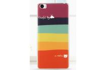 """Фирменная необычная из легчайшего и тончайшего пластика задняя панель-чехол-накладка для Xiaomi Mi Note/Mi Note Pro """"тематика Все цвета Радуги"""""""