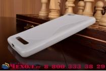 Фирменная ультра-тонкая полимерная из мягкого качественного силикона задняя панель-чехол-накладка для Xiaomi Mi 4i белая