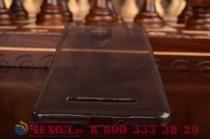 Фирменная ультра-тонкая полимерная из мягкого качественного силикона задняя панель-чехол-накладка для Xiaomi Mi 4i черный