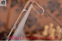Фирменная задняя панель-крышка-накладка из тончайшего и прочного пластика для Xiaomi Mi 4i  прозрачная