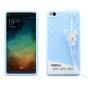 Фирменная необычная уникальная полимерная мягкая задняя панель-чехол-накладка для Xiaomi Mi 4i