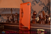 Фирменная ультра-тонкая полимерная из мягкого качественного силикона задняя панель-чехол-накладка для Xiaomi Mi 4i красная
