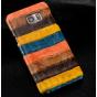 Фирменная неповторимая экзотическая панель-крышка обтянутая кожей крокодила с фактурным тиснением для Xiaomi M..