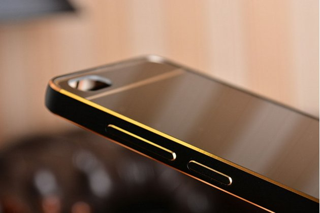 Фирменная металлическая задняя панель-крышка-накладка из тончайшего облегченного авиационного алюминия для Xiaomi Mi5 черная