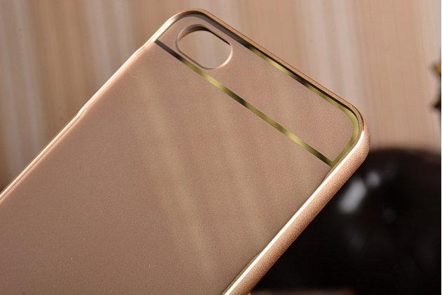 Фирменная металлическая задняя панель-крышка-накладка из тончайшего облегченного авиационного алюминия для Xiaomi Mi5 золотая
