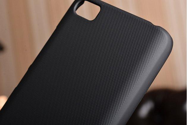 Фирменная задняя панель-крышка-накладка из тончайшего и прочного пластика для Xiaomi Mi5 черная