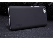 Фирменная задняя панель-крышка-накладка из тончайшего и прочного пластика для Xiaomi Mi5 черная ..