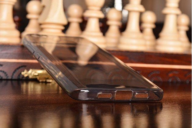 Фирменная ультра-тонкая полимерная из мягкого качественного силикона задняя панель-чехол-накладка для Xiaomi Mi5 серая