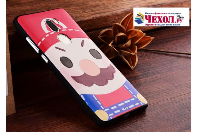 """Фирменная уникальная задняя панель-крышка-накладка из тончайшего силикона для Xiaomi Mi5s Plus"""" с объёмным 3D рисунком """"тематика Марио"""""""