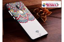 """Фирменная уникальная задняя панель-крышка-накладка из тончайшего силикона для Xiaomi Mi5s Plus"""" с объёмным 3D рисунком """"тематика Стильные узоры"""""""