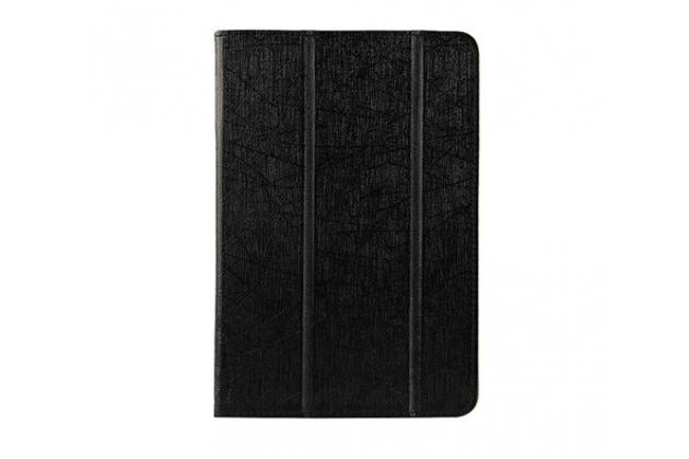 """Фирменный чехол-футляр-книжка для Xiaomi MiPad 2/3 7.9 """" (IPS Intel X5-Z8500) черный кожаный"""