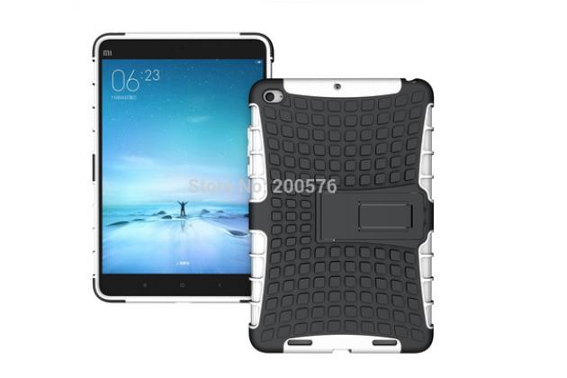"""Противоударный усиленный ударопрочный фирменный чехол-бампер-пенал для Xiaomi MiPad 2/3 7.9 """" (IPS Intel X5-Z8500) белый"""