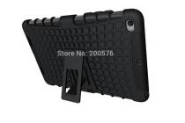 """Противоударный усиленный ударопрочный фирменный чехол-бампер-пенал для Xiaomi MiPad 2/3 7.9 """" (IPS Intel X5-Z8500) черный"""