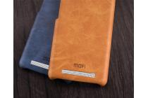 Фирменная роскошная элитная премиальная задняя панель-крышка для Xiaomi Redmi 3 Pro/ 3S 5.0 из качественной кожи буйвола коричневый