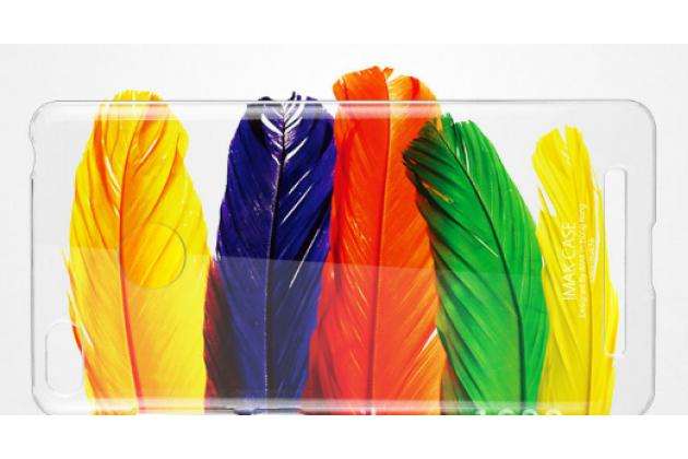 Фирменная задняя панель-крышка-накладка из тончайшего и прочного пластика для Xiaomi Redmi 3 Pro/ 3S 5.0 прозрачная