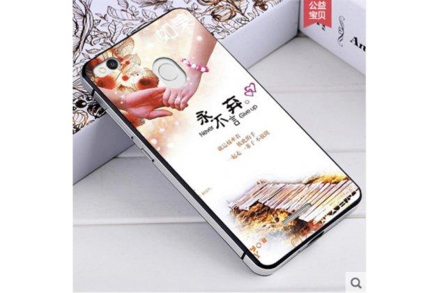 """Фирменная роскошная задняя панель-чехол-накладка из металла с объемным  3D изображением  на Xiaomi Redmi 3/3X 5.0 с безумно красивым рисунком  """"Тематика Дорога"""
