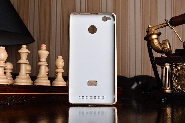 Фирменная металлическая задняя панель-крышка-накладка из тончайшего облегченного авиационного алюминия для Xiaomi Redmi 3/3X 5.0 золотая