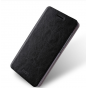 Фирменный чехол-книжка  металлической основе для Xiaomi Redmi 3/3X 5.0 черный..