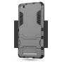 Противоударный усиленный ударопрочный фирменный чехол-бампер-пенал для Xiaomi Redmi 3/3X 5.0 черный..