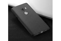 """Фирменная ультра-тонкая силиконовая задняя панель-чехол-накладка с защитой боковых кнопок для Xiaomi Redmi 4 2GB+16Gb/ Android 6.0 / 1280:720 / 5.0"""" / вспышка справа черная"""