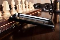 Фирменная металлическая задняя панель-крышка-накладка из тончайшего облегченного авиационного алюминия для Xiaomi Redmi 4A черная