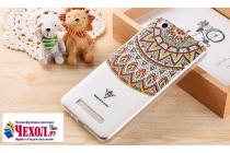 """Фирменная ультра-тонкая задняя панель-крышка-накладка из 3D силикона для Xiaomi Redmi 4A 2Gb+16Gb 5.0""""  объёмным рисунком """"тематика Эклектические Узоры"""""""