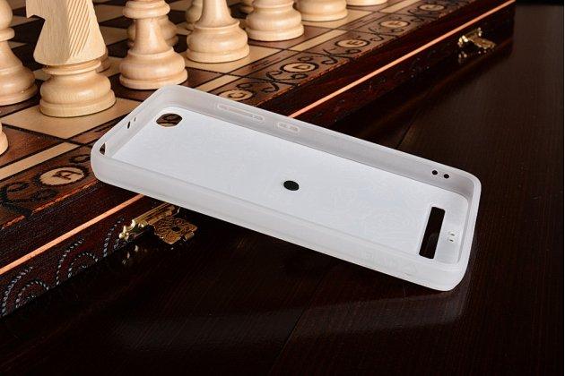 """Фирменная ультра-тонкая задняя панель-крышка-накладка из 3D силикона для Xiaomi Redmi 4A 2Gb+16Gb 5.0"""" с объёмным рисунком """"тематика королевские Розы"""""""